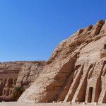 Emplazamiento actual Speo de Abu Sibel y Nefertari