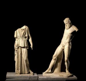 Atena y Marsias