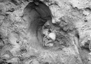 Descubrimiento de la Diada de Micerinos y su esposa en el Valle de Giza